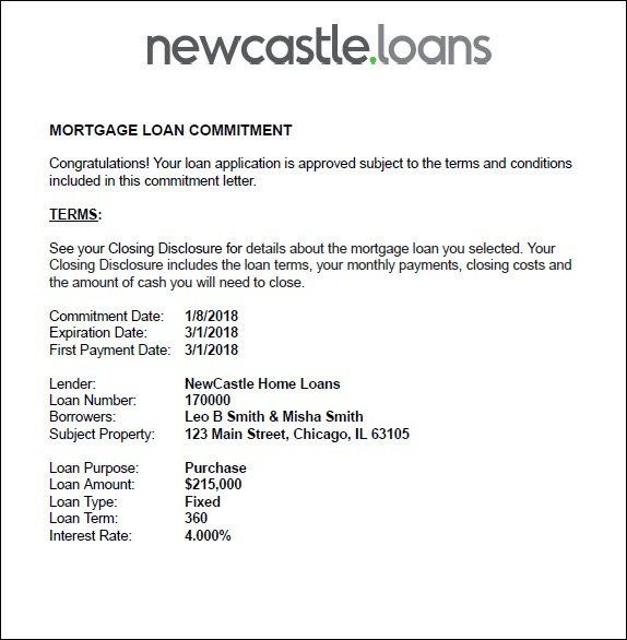 Letter Of Explanation Format Mortgage from www.newcastle.loans