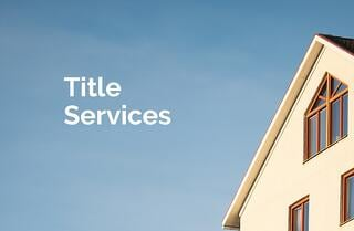 Title Services and Title Commitment