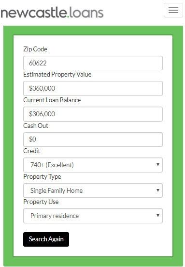 Mortgage Calculator Search