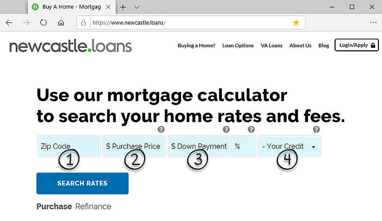 Mortgage Calculator NewCastle Home Loans