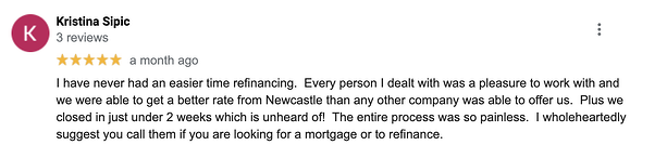 NewCastle Home Loans - Review
